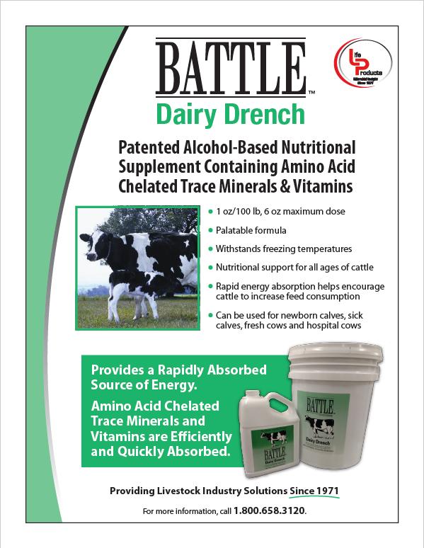 Battle Dairy Drench Tech Sheet