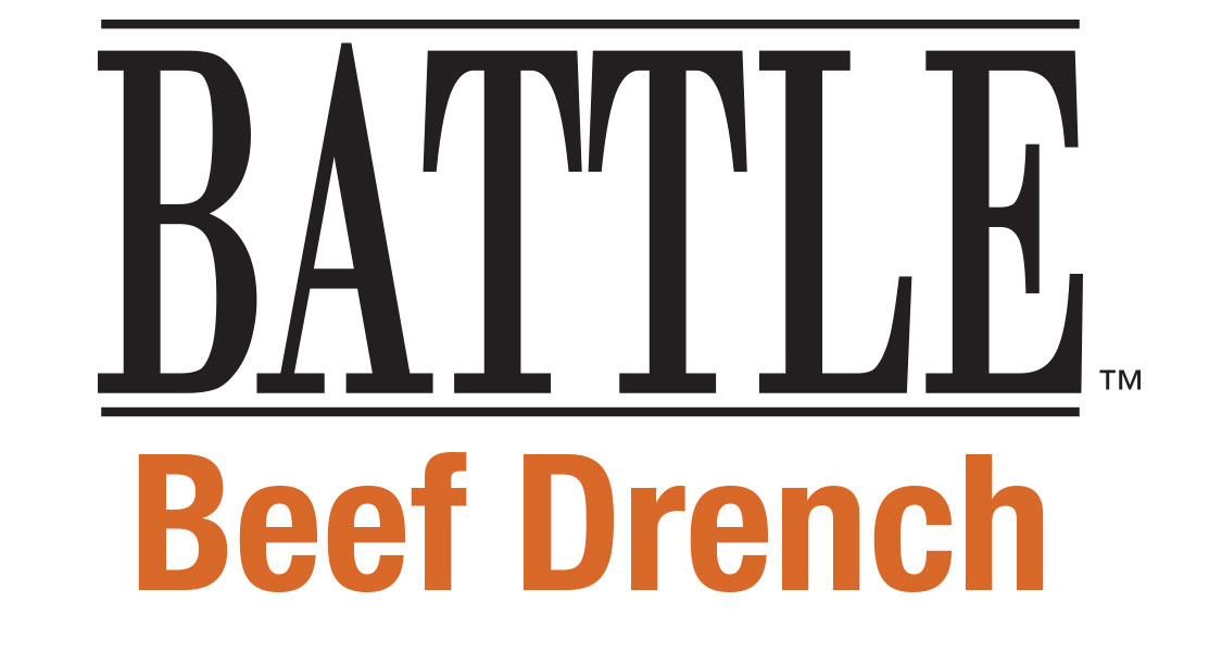Battle Beef Drench Logo