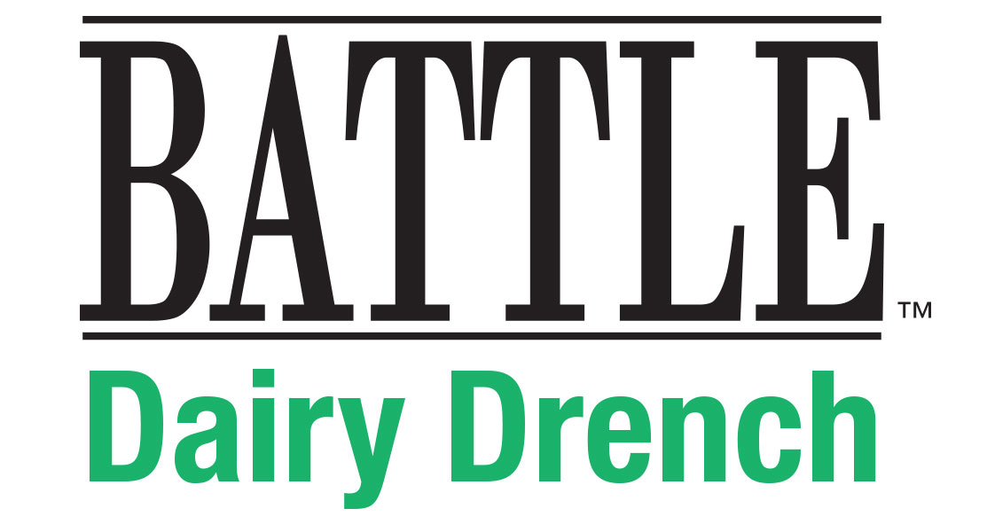 Battle Dairy Drench Logo