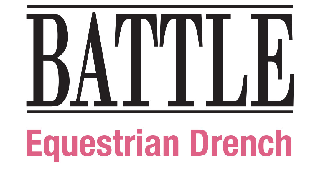 Battle Equestrian Drench Logo
