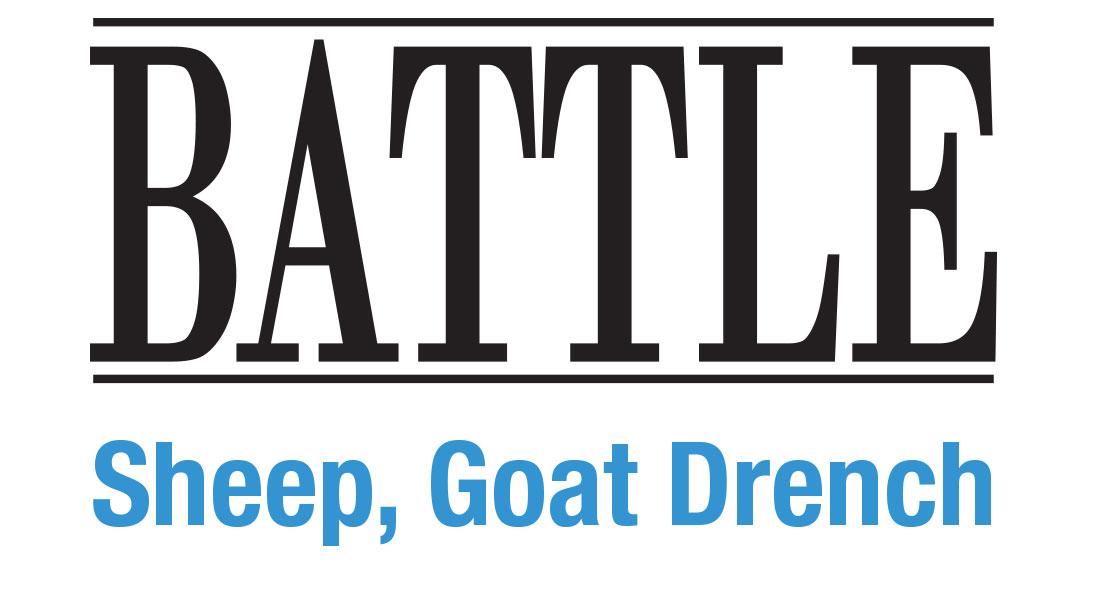 Battle Sheep Goat Drench Logo