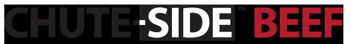 CHUTE-SIDE Beef Logo