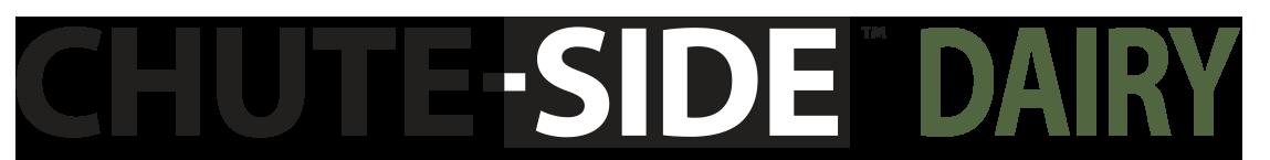 CHUTE-SIDE Dairy Logo