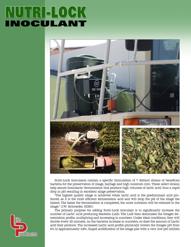 NUTRI-LOCK Inoculants Brochure