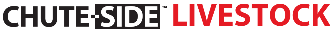 CHUTE-SIDE Livestock Logo